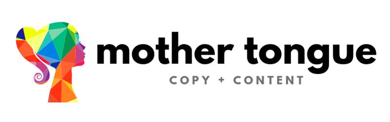 Mother Tongue Copy + Content