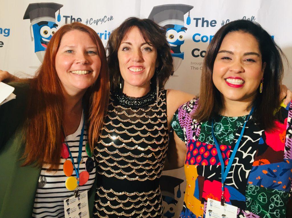 CopyCon19-Sarina-Singh-Kate-Toon-Suzanne-Chadwick